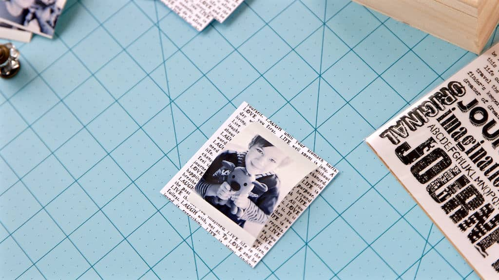 how to make a diy keepsake box with pull out photos