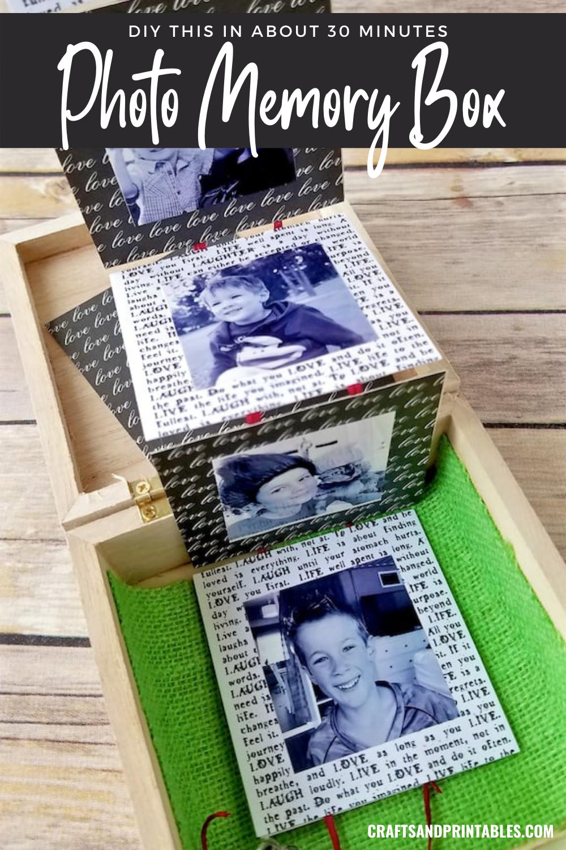 diy photo box pin