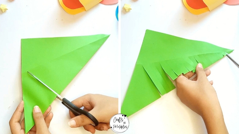Moving Paper Fish Craft Tutorial Step by Step
