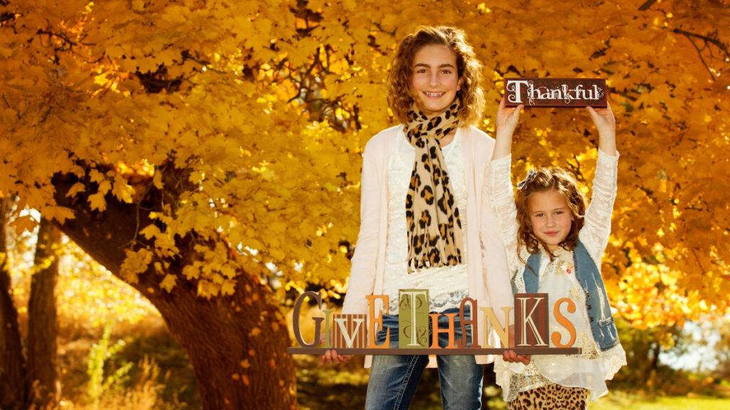 Thankful kids