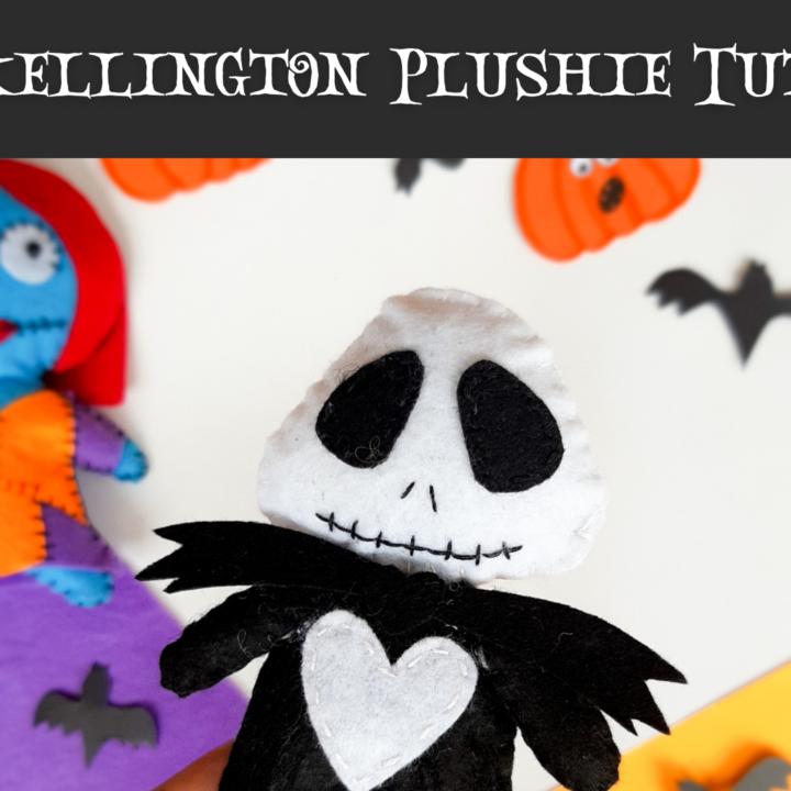 Youtube Craft Intro Jack Skellington Felt Plushie CNP How to Make Christmas Gnomes: Free Felt Gnomes Pattern