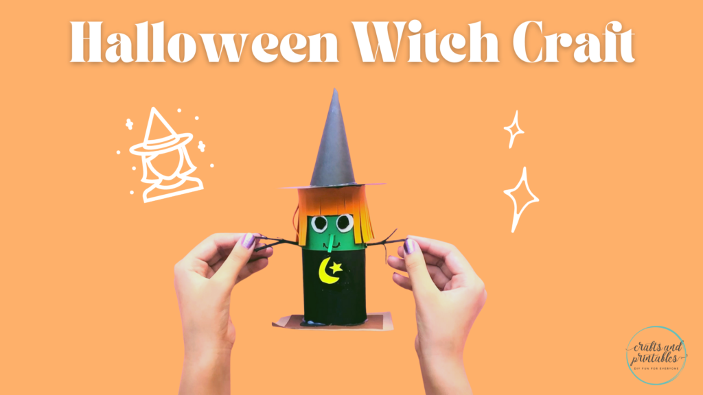 Easy Toilet Paper Roll Crafts Halloween Witch
