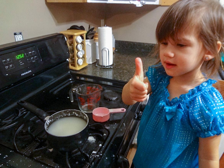 homemade finger paint recipe