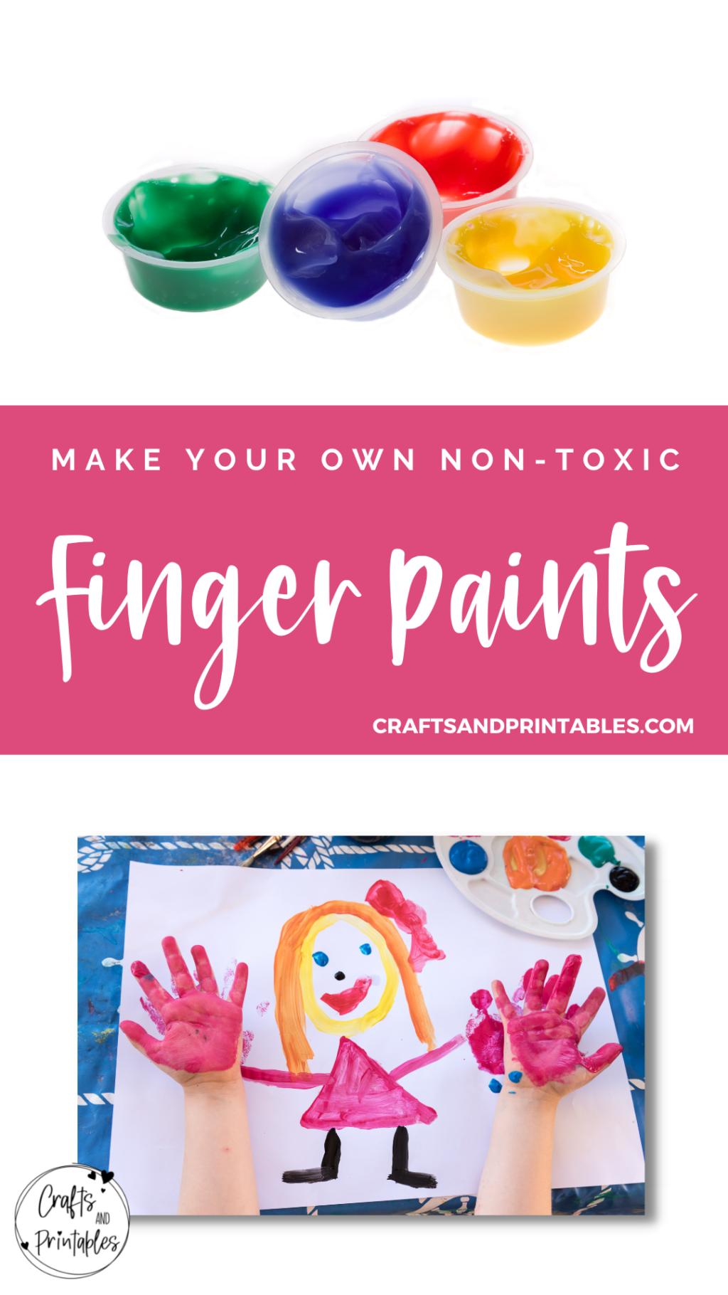 homemade non toxic finger paint recipe