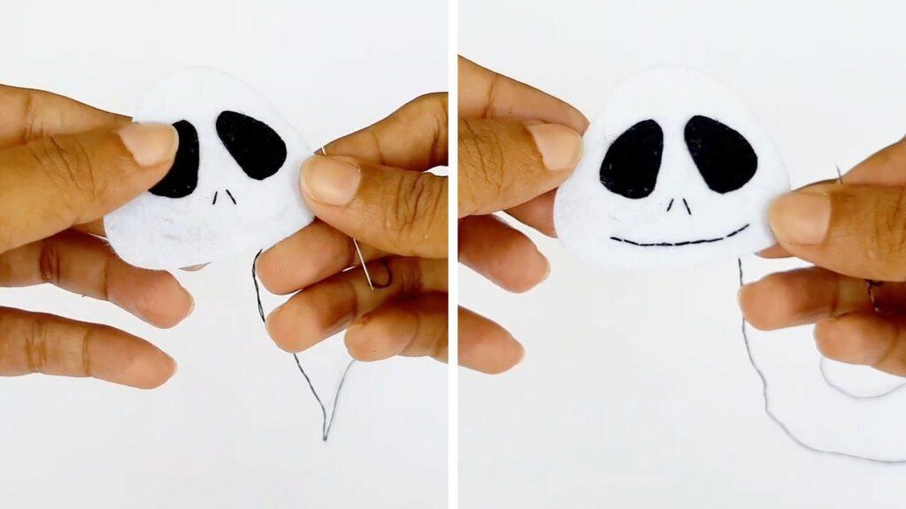 how to make a plushie jack skellington