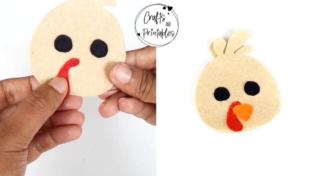 thanksgiving turkey craft felt plushie free pattern