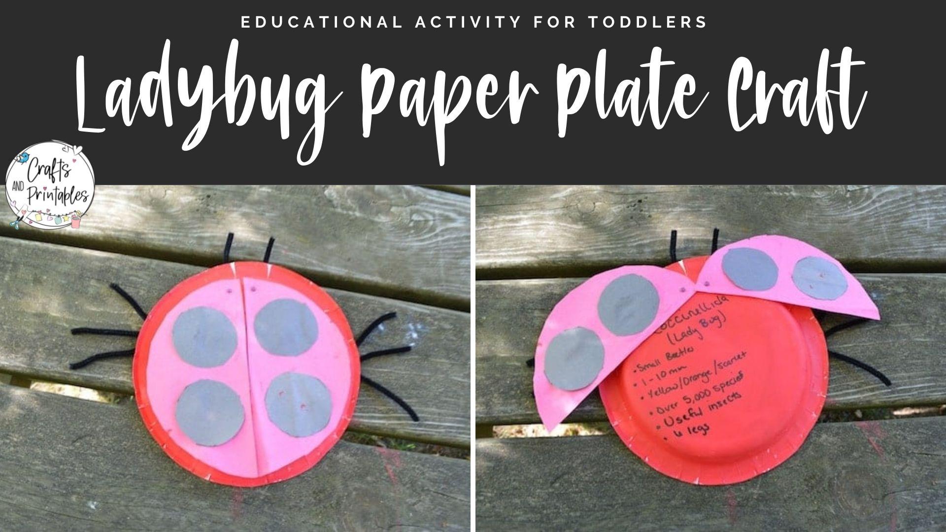 ladybug craft for toddlers