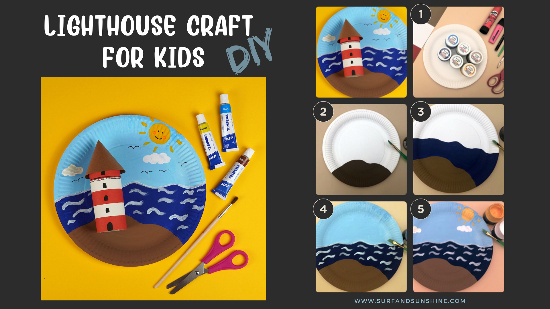 easy lighthouse craft for kids