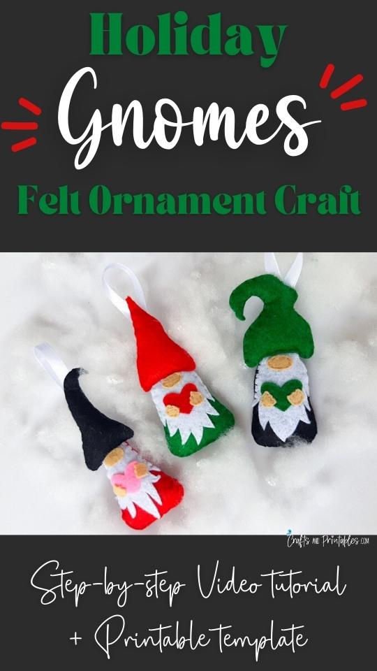 Felt Christmas Gnomes CNP Vertical