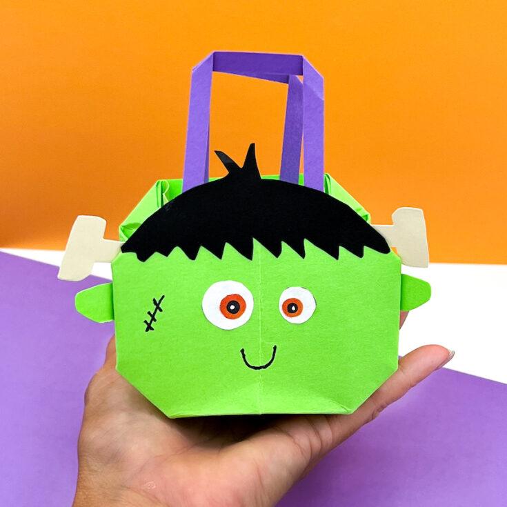 Frankenstein Origami Bag 1