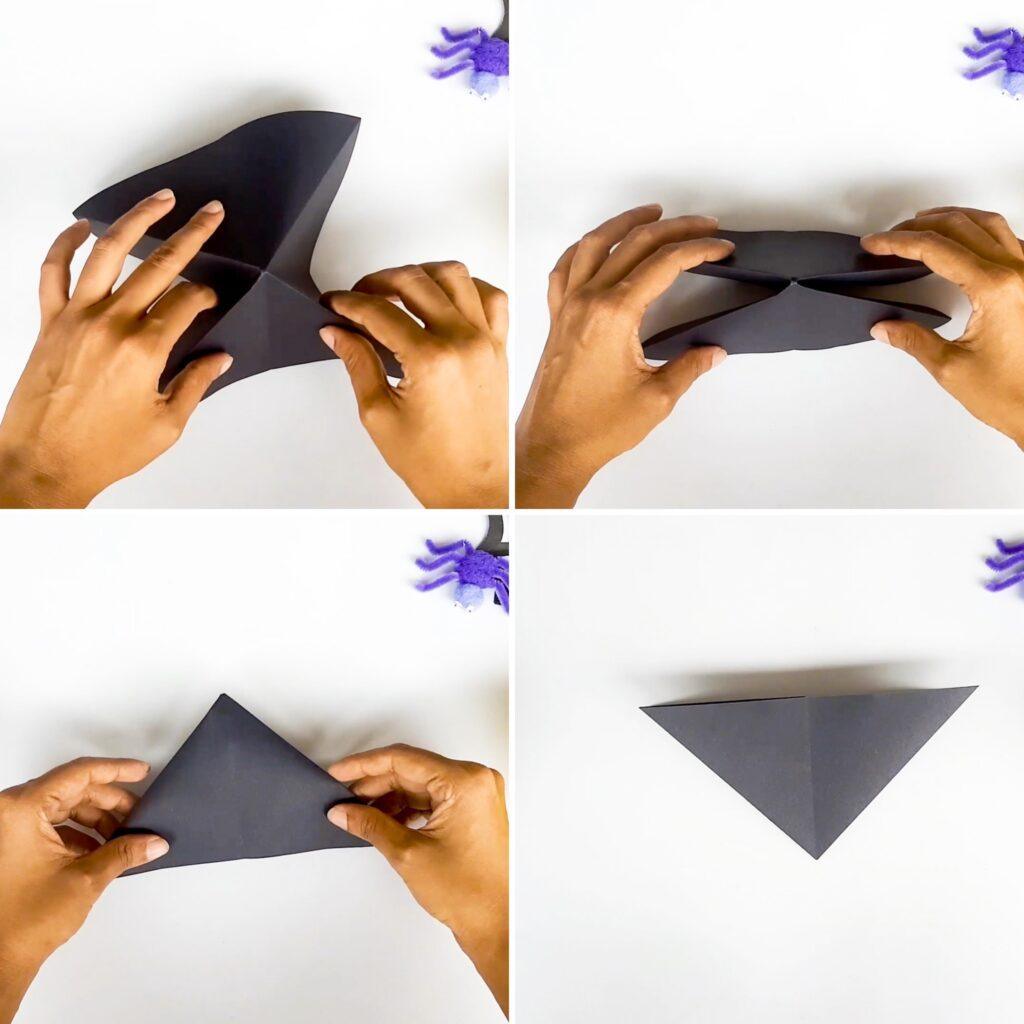 Origami Triangle Double Base