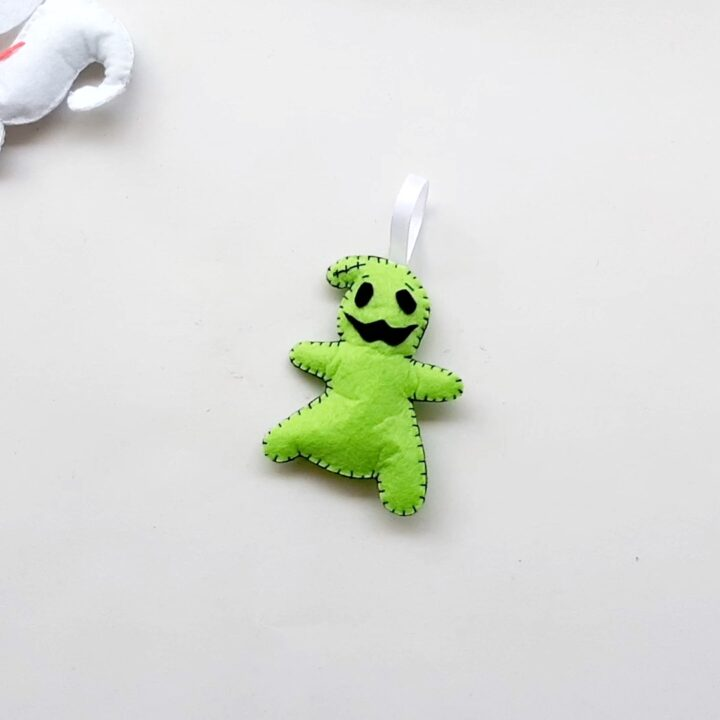 Oogie Boogie Final white background Nightmare Before Christmas Ornaments: Sally (Free Pattern!)