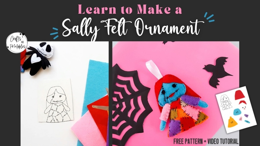 Sally Felt Ornament Pattern
