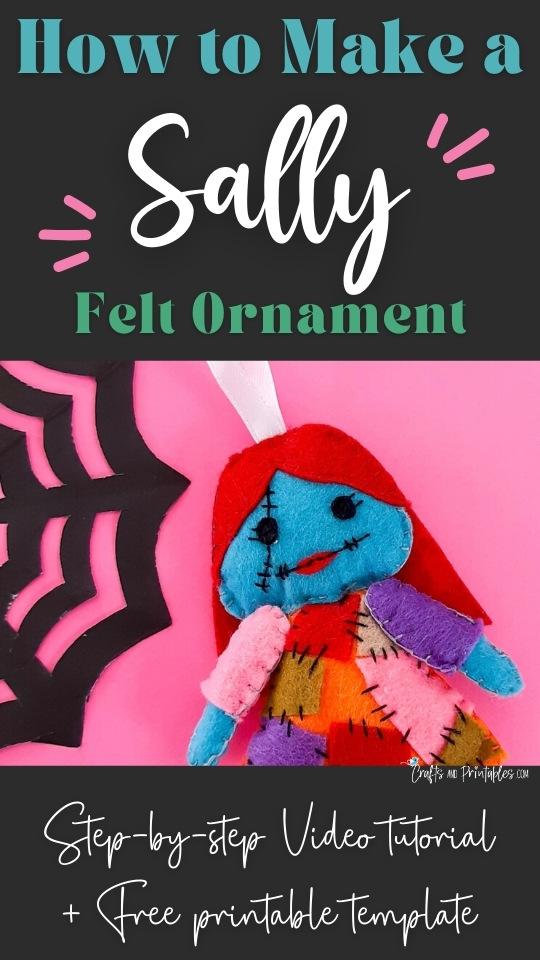 Sally Felt Ornament Pattern CNP Vertical